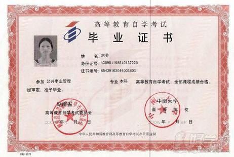 中南大学自考《人力资源管理》专升本深圳班