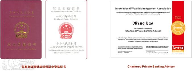 国家高级理财规划师 国际注册私人银行家双证课程图片