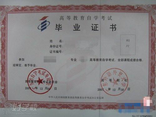 广东外语外贸大学《商务秘书》自考专科广州班