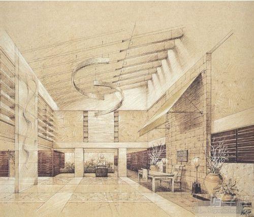 室内设计手绘的介绍