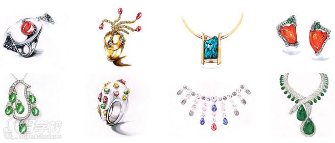 上海珠宝设计手绘培训班