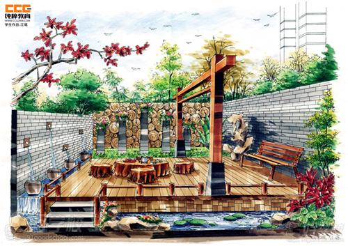 广州景观手绘设计特训班