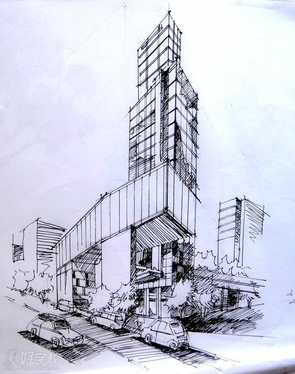 天津建筑手绘培训班