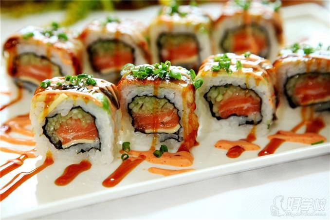 日本寿司美食成品